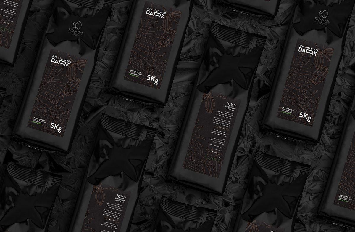Dark schocolade design