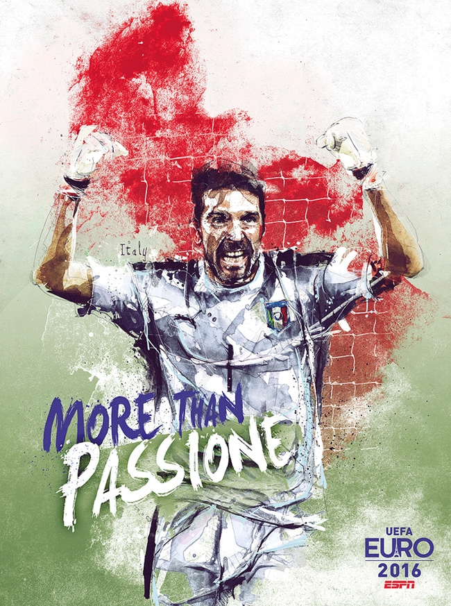 Taliansko a jeho zápasy prinášajú stále zážitky. Emócie a charakteristická povaha hráčov a ich štýl sa nedajú zameniť. Gigi Buffon, legenda v bráne.