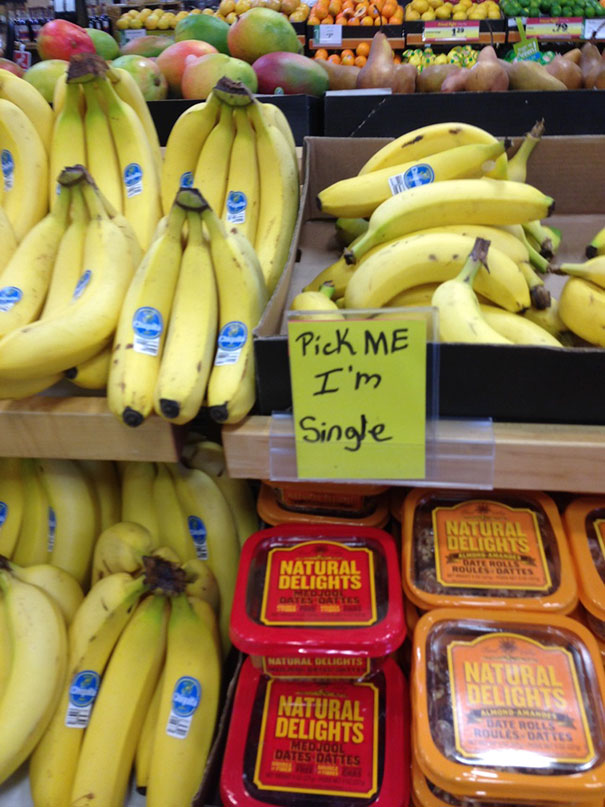 Nezadaný banán