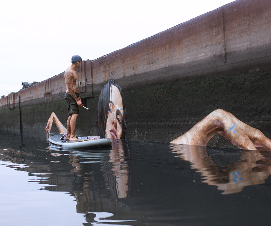 water-street-art-paddleboarding-sean-yoro-hula-22