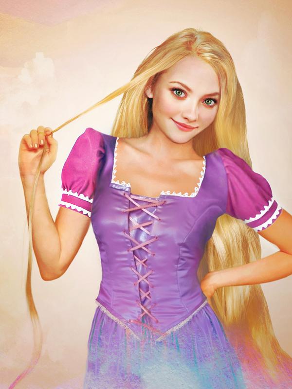 Rapunzel, Na vlásku