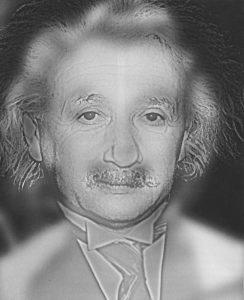 Albert Einstein a Marilyn Monroe