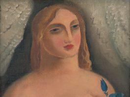 Žena so zvončekami - Mikuláš Galanda