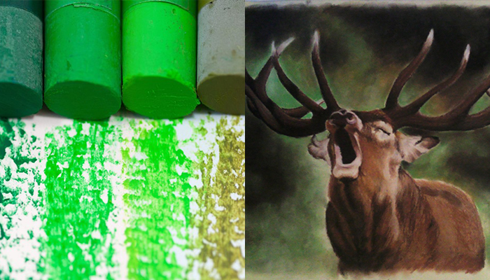 malovanie pastelom