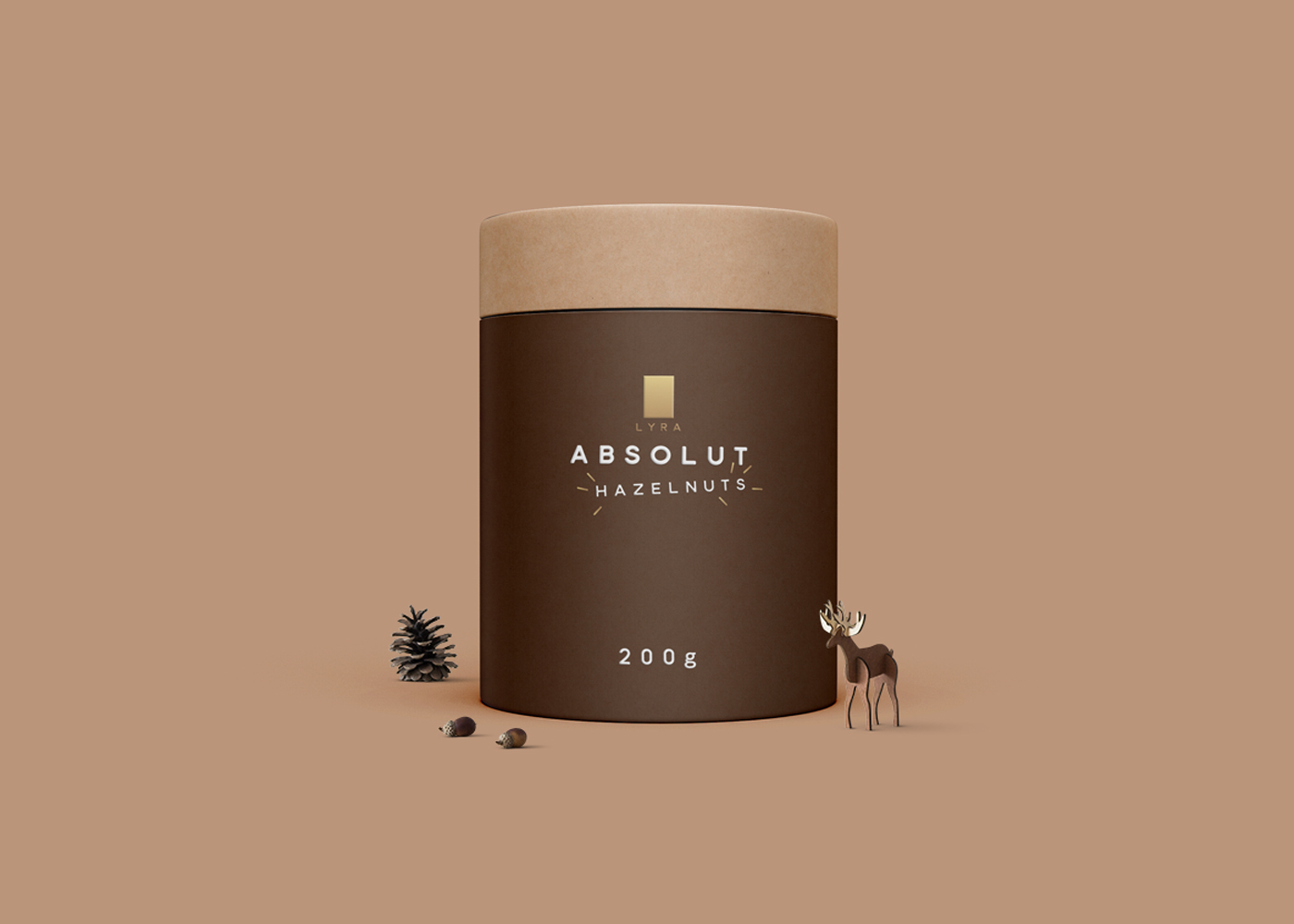 Absolut hazelnut