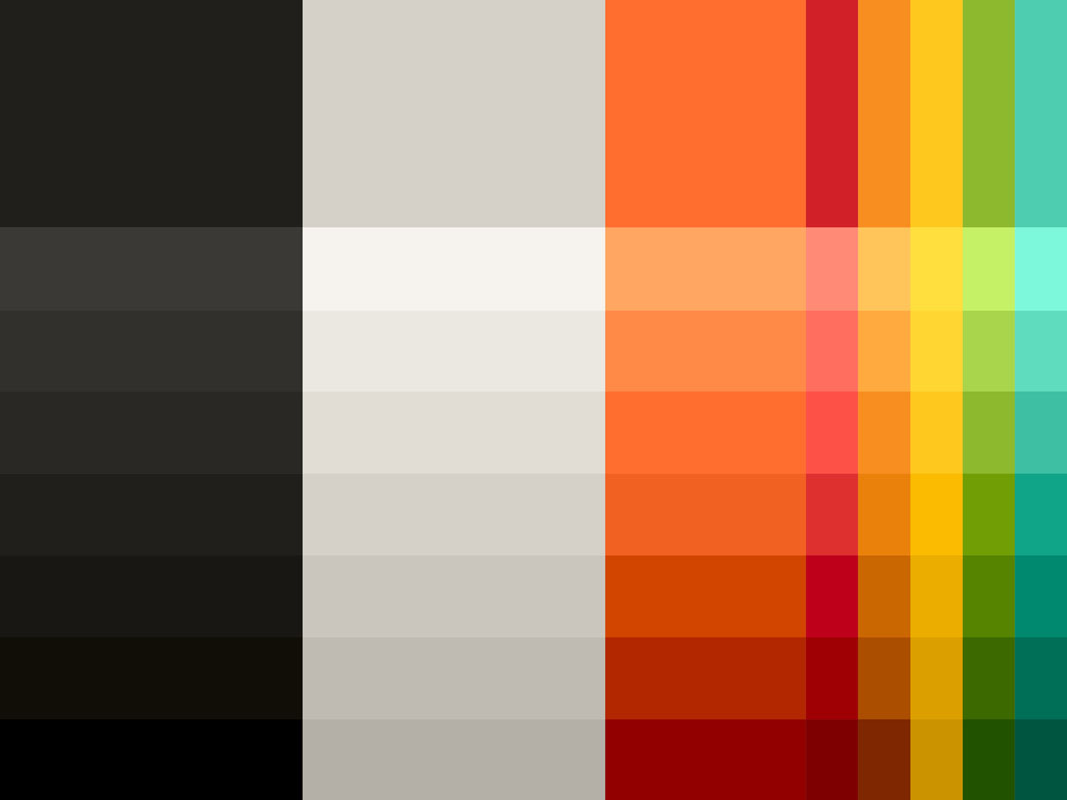 Nová farebná paleta identity Mastercard.