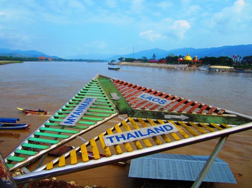 Thajsko - Laos - Mjanmar