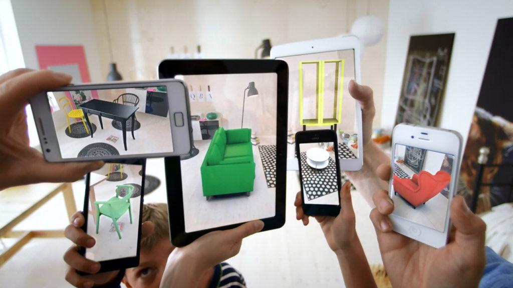 Rozsirena realita - 3d aplikácia Dezeen