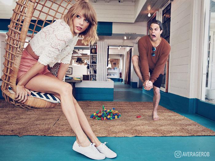 Taylor má rada hry. Nie upratovanie.