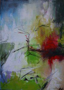 Maľba akrylom na plátno
