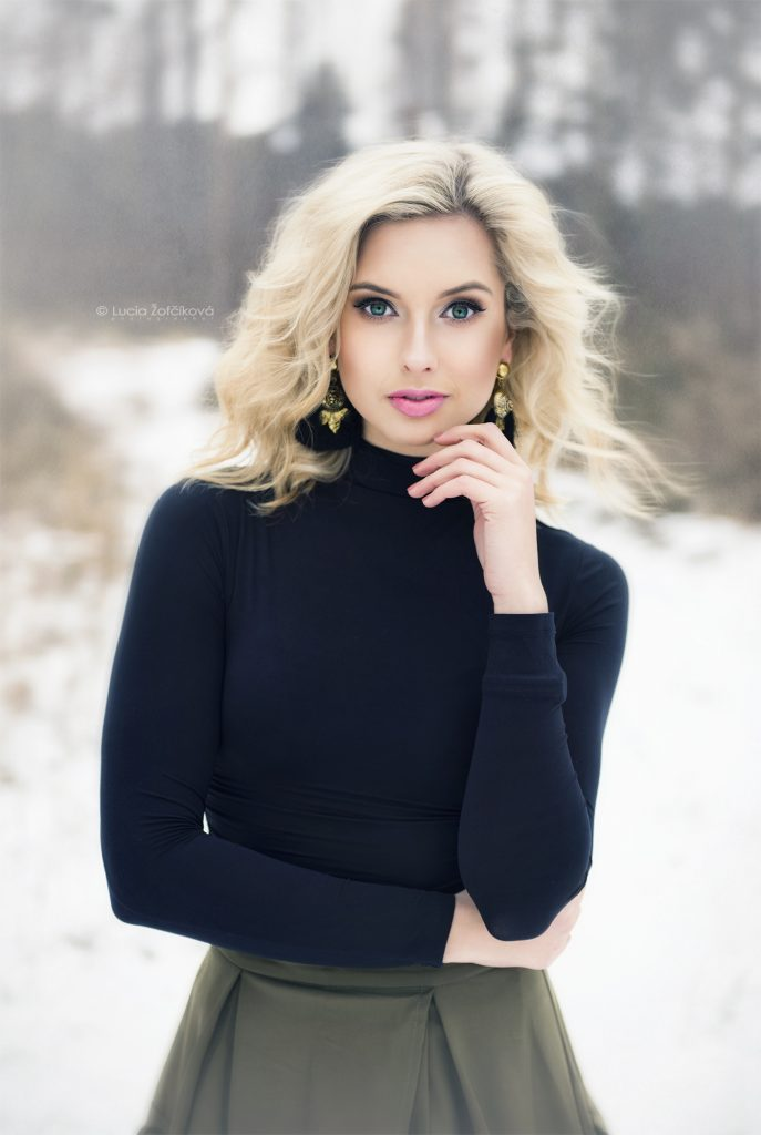 Módna bloggerka Sweet Lady Lollipop si robila makeup sama.